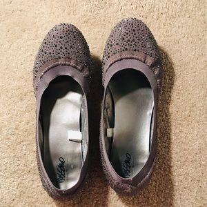 Mossimo Gray Ballerina Slippers